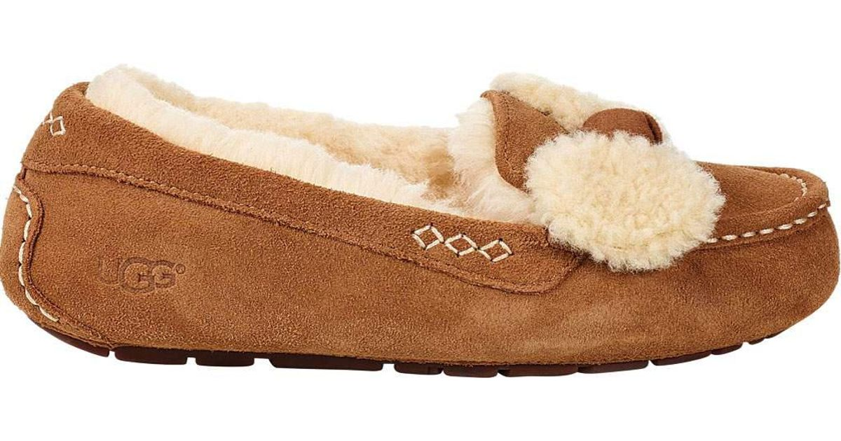 3f7e489f687 Ugg Multicolor Ansley Fur Bow Loafer