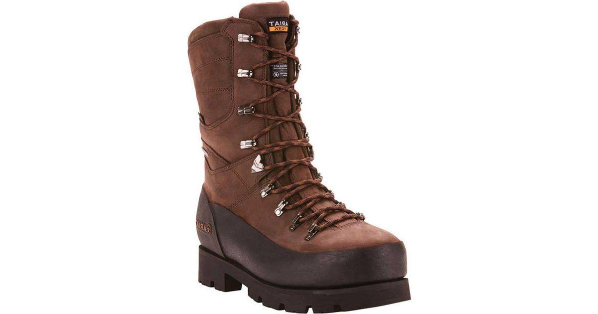 2683922f83a Ariat - Brown Linesman Ridge 10