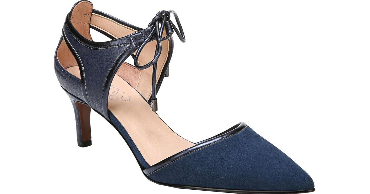 Darlis Suede Lace Up d'Orsay Pumps WPgibHQ5H