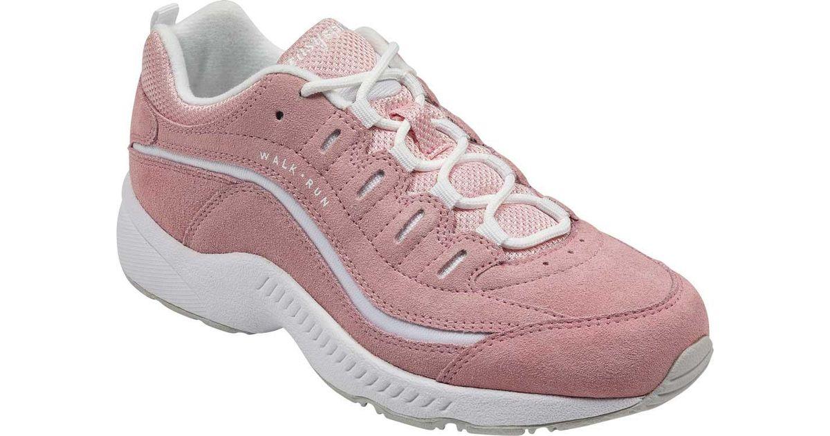 47188bdddb Lyst - Easy Spirit Romy Walking Shoe in Pink