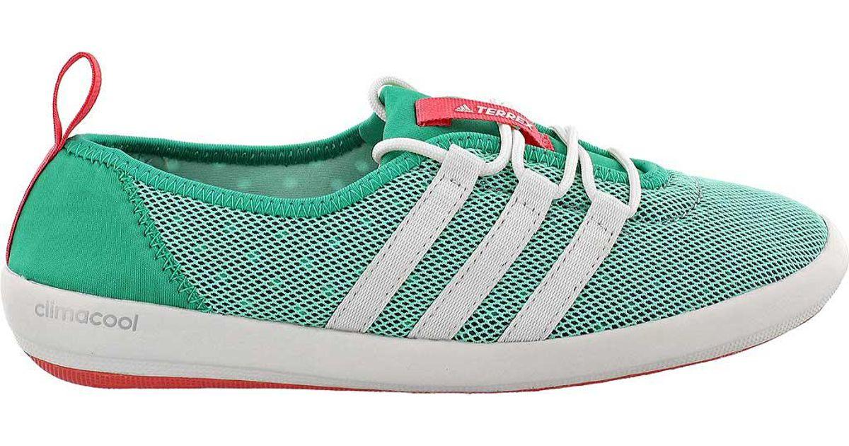 Adidas Green Terrex Climacool Boat Sleek Water Shoe