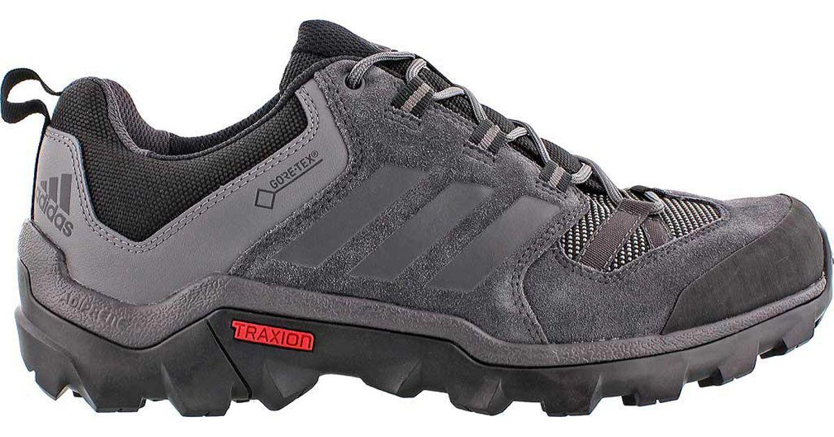 dda6cbae6fa5c Adidas Black Caprock Gore-tex Hiking Shoe for men
