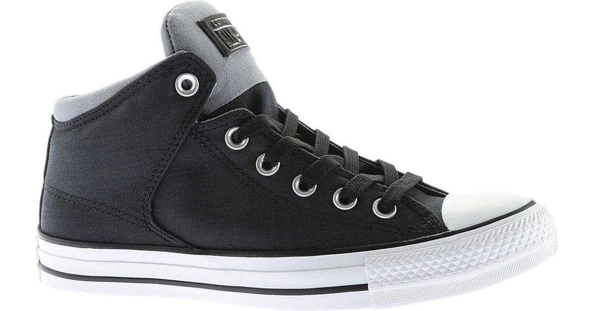 f23878290a15 Lyst - Converse Chuck Taylor All Star High Street Hi-cordura in Black for  Men