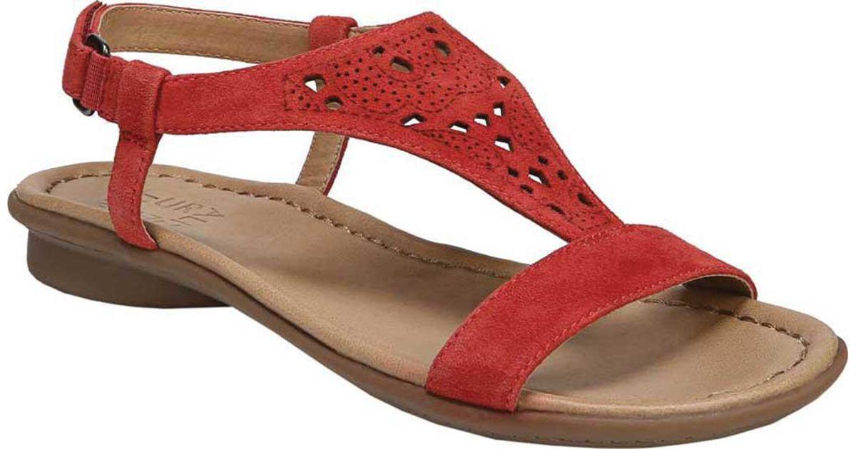 9d269dd3e356 Lyst - Naturalizer Windham Slingback Sandal in Red