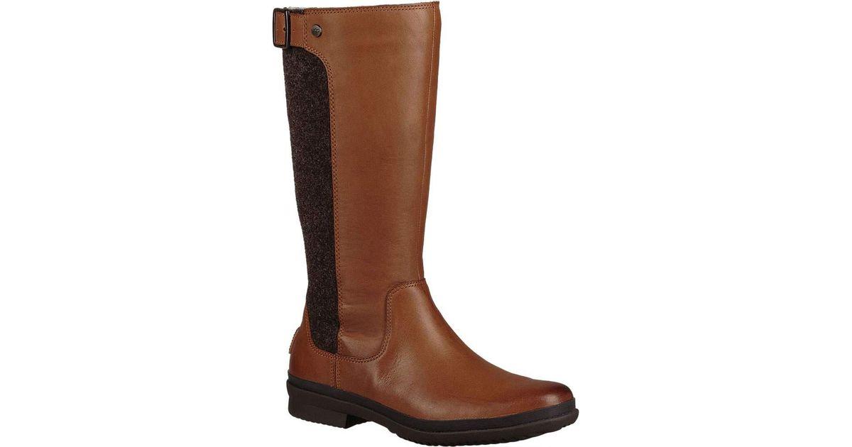 3e1ba7b35f6 Ugg Brown Janina Waterproof Boot