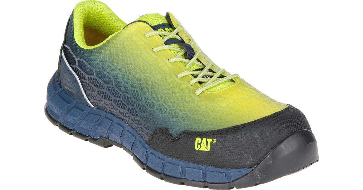 bb7d61f915b Caterpillar Blue Expedient Composite Toe Work Shoe for men