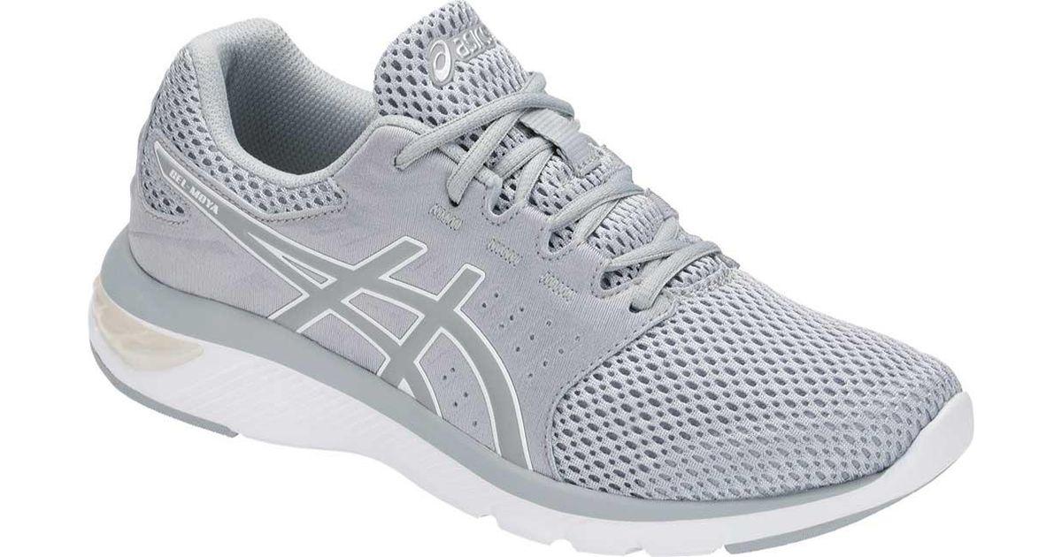 Gray Gel Asics Shoe Running Moya 4AqL35Rj