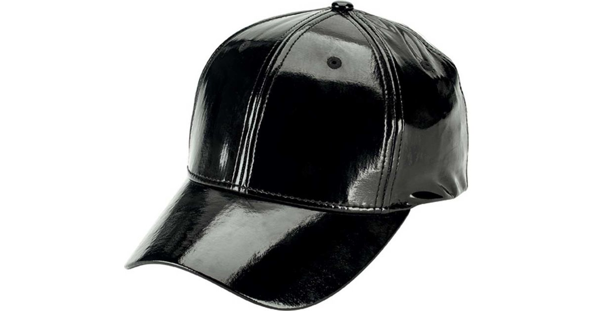 Lyst - San Diego Hat Company Patent Leather Baseball Cap Cth8157 in Black  for Men 14950f78f35