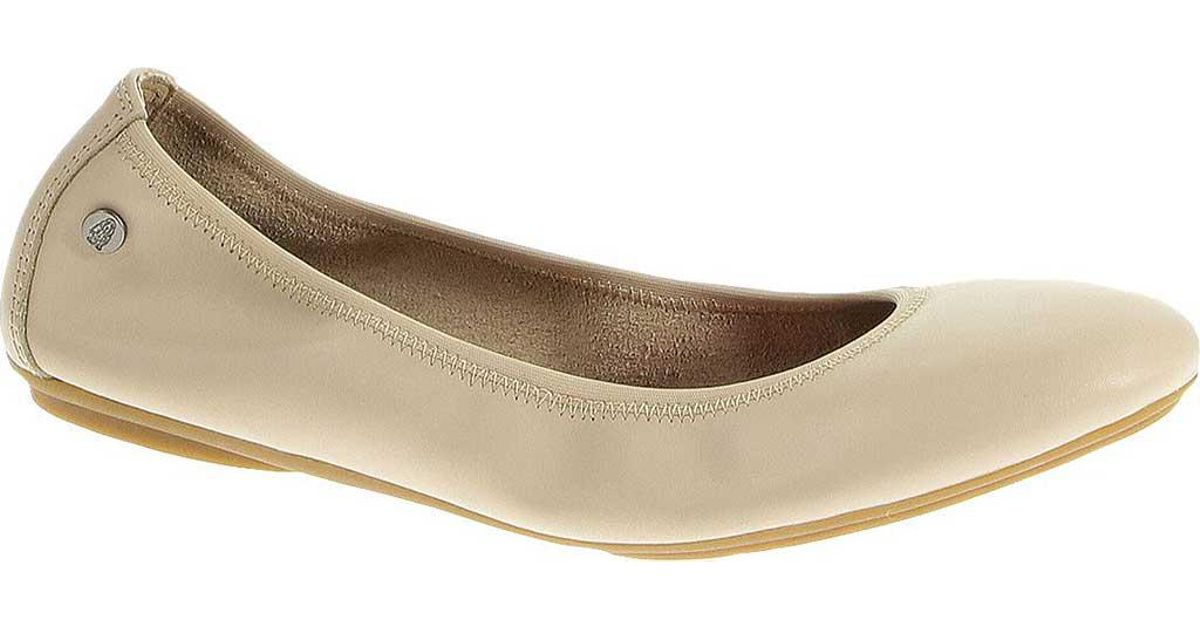 Gucci Pilar Double G Leather Espadrille Flats in Nude