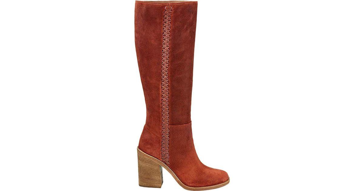 942eca8613a Ugg - Red Maeva Mid Calf Boot - Lyst