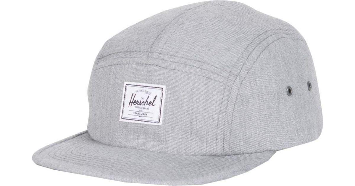 9fd83e0c051 Lyst - Herschel Supply Co. Glendale Cap in Gray for Men