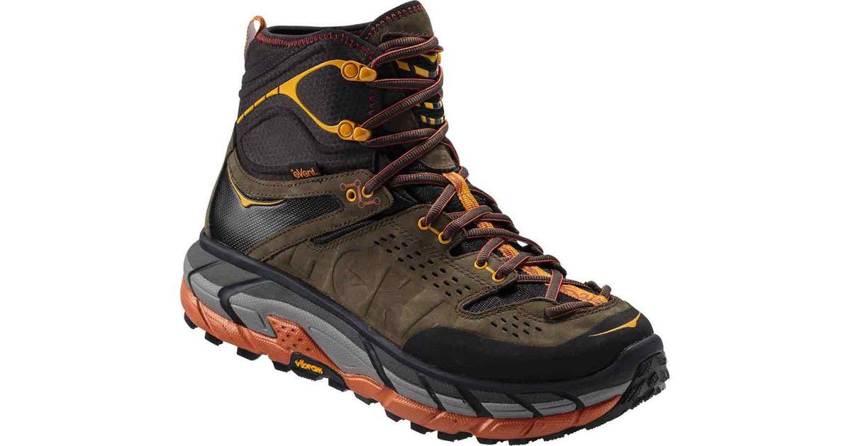 9a99f276a10 Hoka One One Black Tor Ultra Hi Waterproof Boot for men