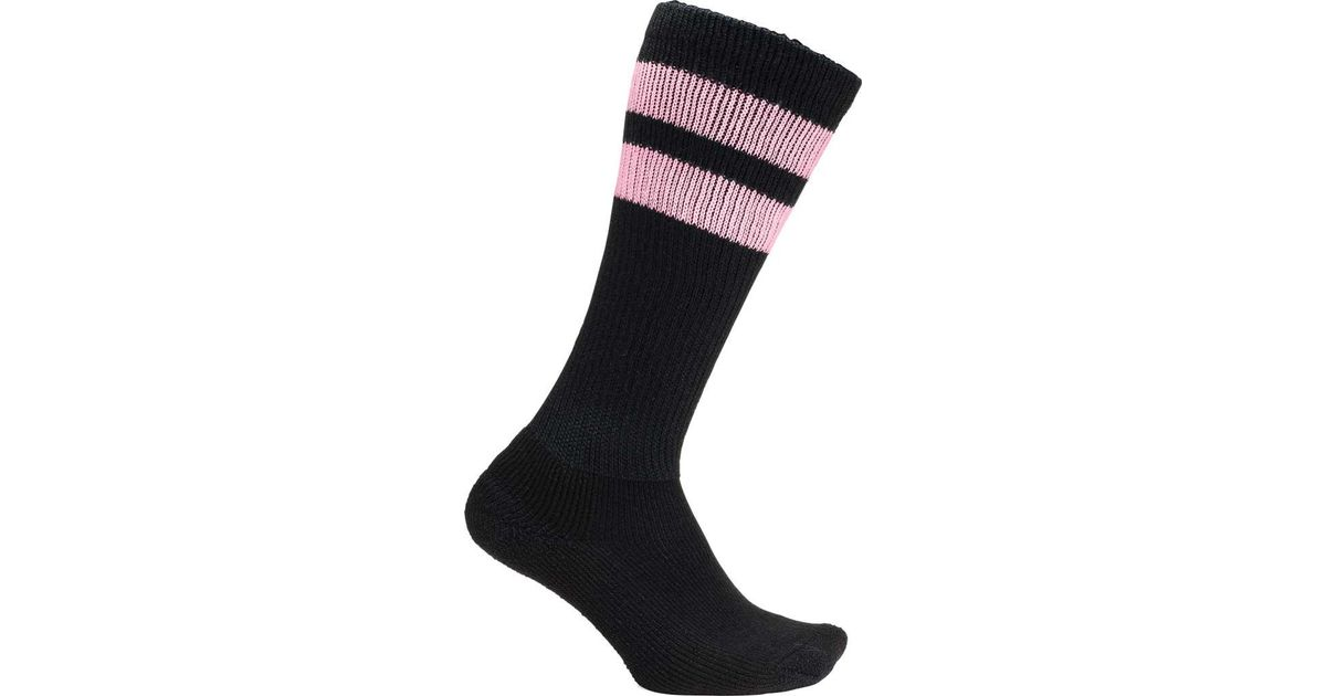706d80338a4 Lyst - Thorlo Old School Retro Stripe Socks (2 Pairs) in Black for Men