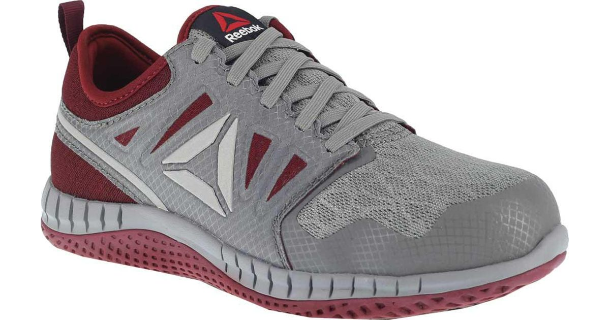 f13a4b1bdb0 Lyst - Reebok Zprint Work Rb253 Steel Toe Athletic Work Shoe in Gray
