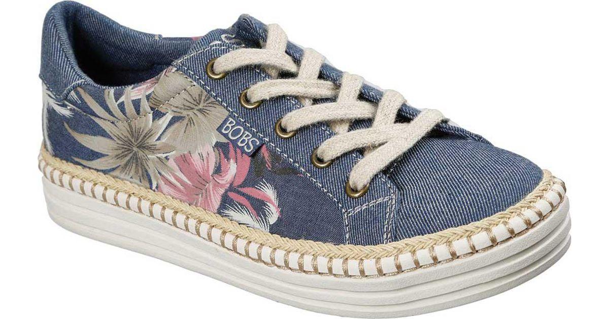 252d350ec2f38 Skechers Blue Bobs Triple Decker Tropical Mist Sneaker