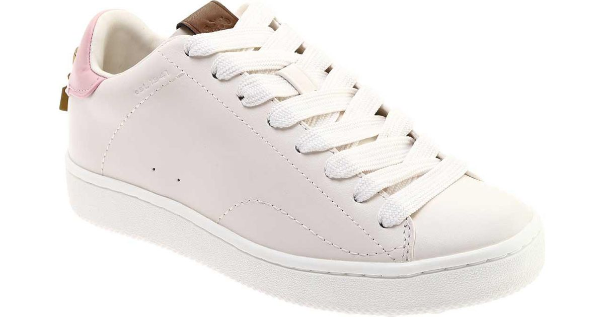 COACH C101 Charm Leather Low Top