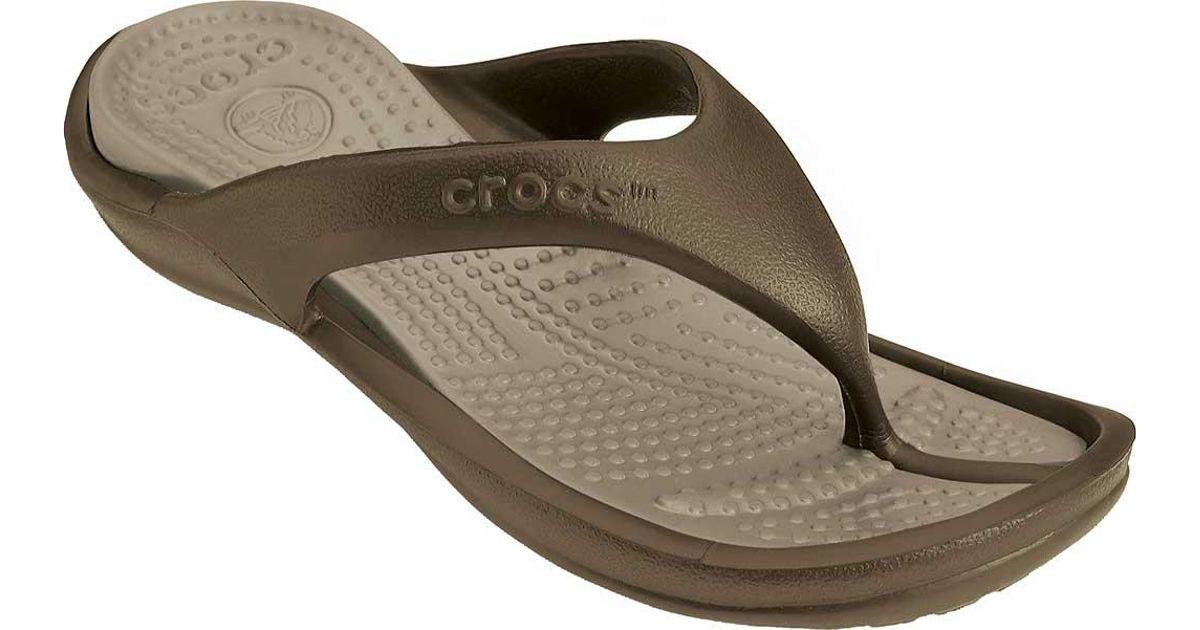 133c3028d0a9 Lyst - Crocs™ Athens Flip Flop for Men