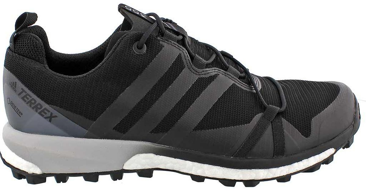 Adidas Black Terrex Agravic® Gtx Trail Running Shoes for men