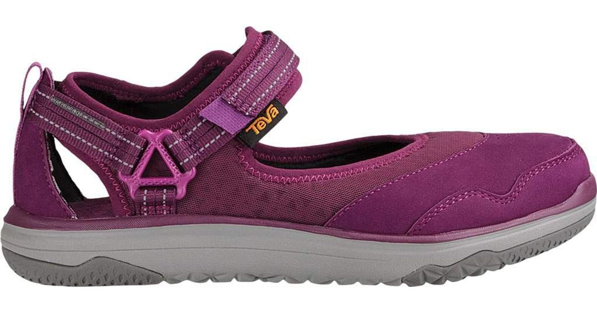 cbe7330dcd8e Lyst - Teva Terra-float Travel Mary Jane in Purple