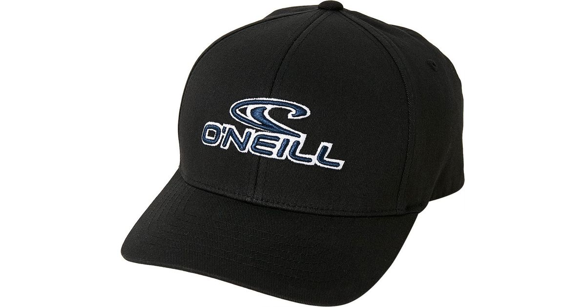 898a54b546549 Lyst - O neill Sportswear Staple Stretch Fit Hat in Black for Men - Save 45%