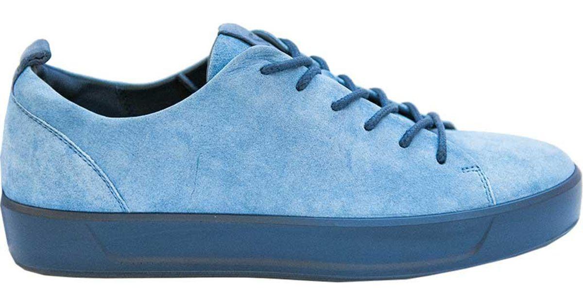 fefcf55fb0764 Ecco Soft 8 Sneaker in Blue - Lyst