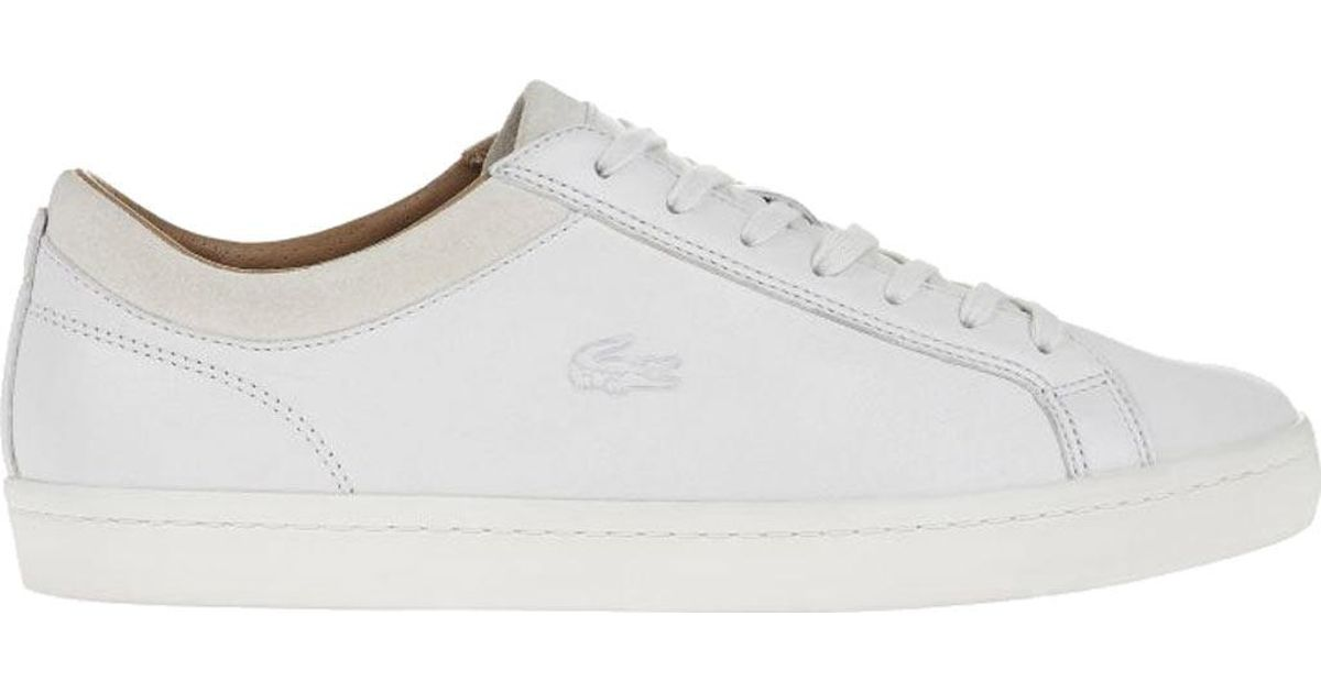 a0bae4f8d82849 Lacoste - White Straightset Crf 2 Sneaker for Men - Lyst
