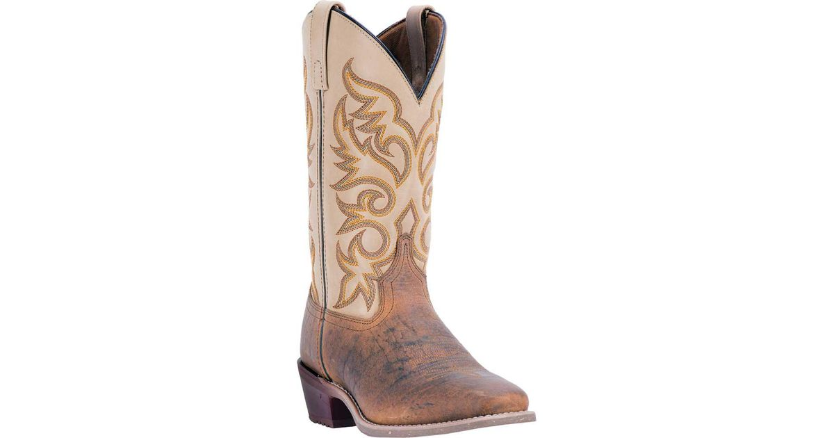 a3c87544840 Laredo Brown Barn Stormer Cowboy Boot 68341 for men
