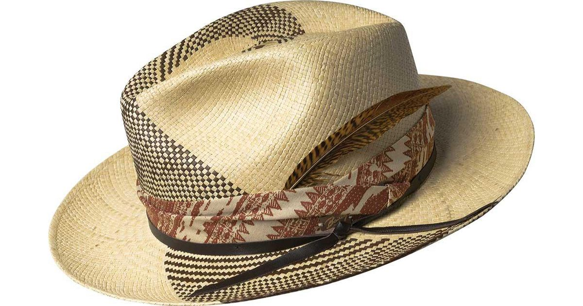 2f7af384f4d00 Bailey of Hollywood Brown Rayney Genuine Panama 22781 for men
