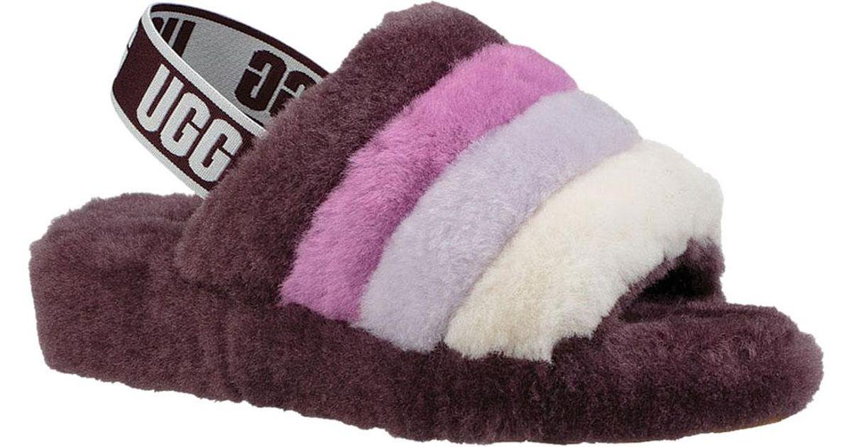 6899154b32a Ugg Purple Fluff Yeah Slingback