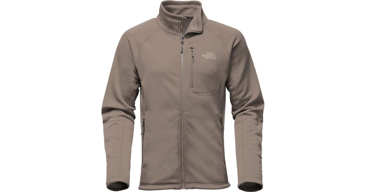 17783301c The North Face - Brown Timber Full Zip Jacket for Men - Lyst