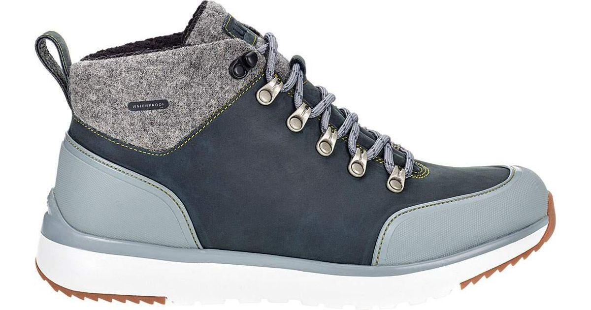 8864fbadabf Ugg Blue Olivert Leather Boot for men