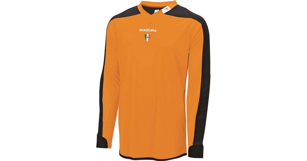 acab719e Diadora - Orange Enzo Goalkeeper Jersey for Men - Lyst