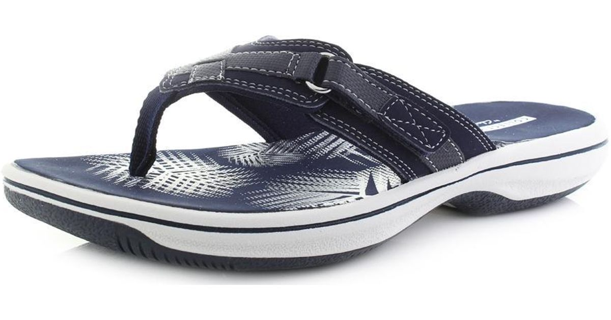 clear and distinctive hot-seeling original latest style of 2019 Clarks - Blue Brinkley Sea D Fit Sandals for Men - Lyst