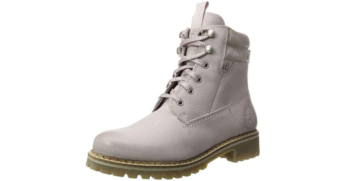 newest ca642 dec32 S.oliver Gray Wo Lace-up Boots Da.-stiefel