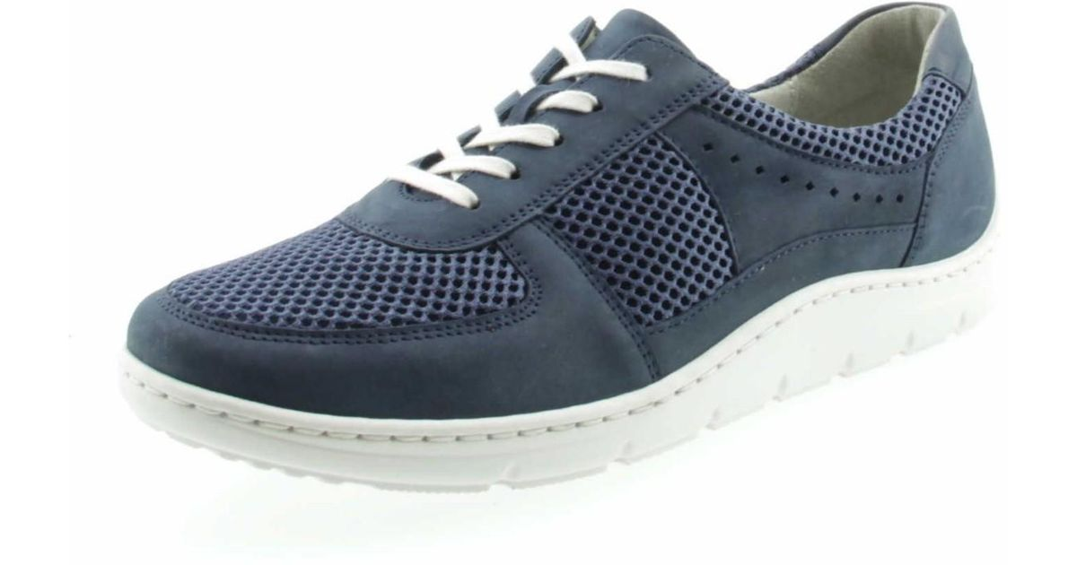 Waldläufer Wo Comfort Lace ups Blue Schnürer Hassi 399004 287 206