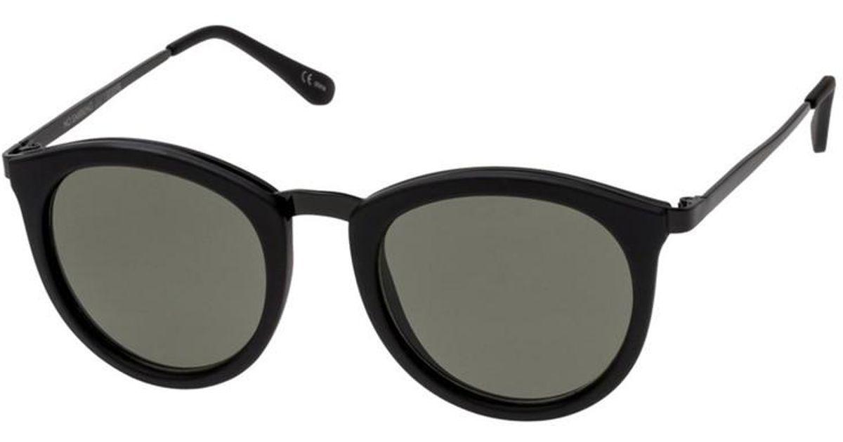 cc27804fb3 Lyst - Le Specs No Smirking Sunglasses In Black Rubber in Black