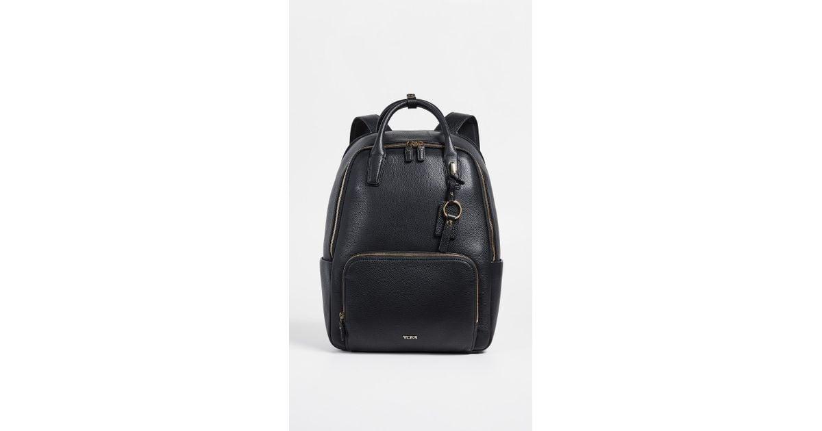 6b78023b47ac Lyst - Tumi Stanton Indra Backpack in Black