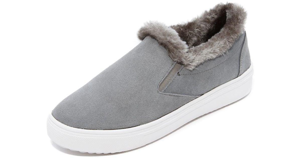 Steve Madden Cuddles Faux Fur Sneakers