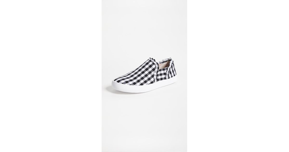 Kate Spade Lilly Gingham Sneakers - Lyst