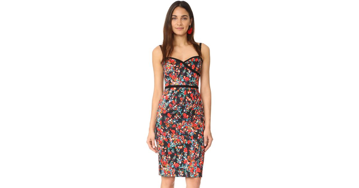 24681df4 Black Halo Daria Sheath Dress - Lyst