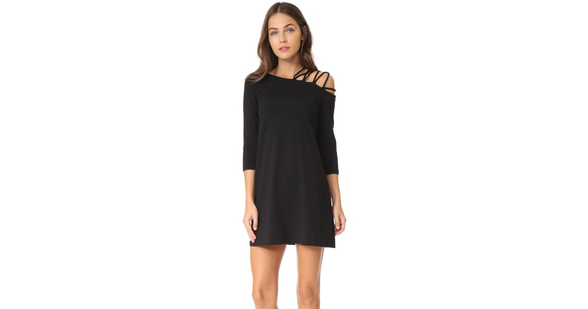 71f4a11dfd8 Lyst - Susana Monaco Rosie Dress in Black