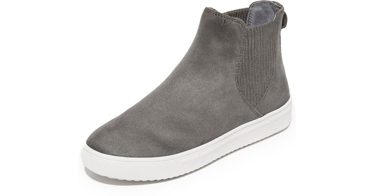cba836e0932 Steven by Steve Madden Gray Coal Platform Chelsea Sneakers