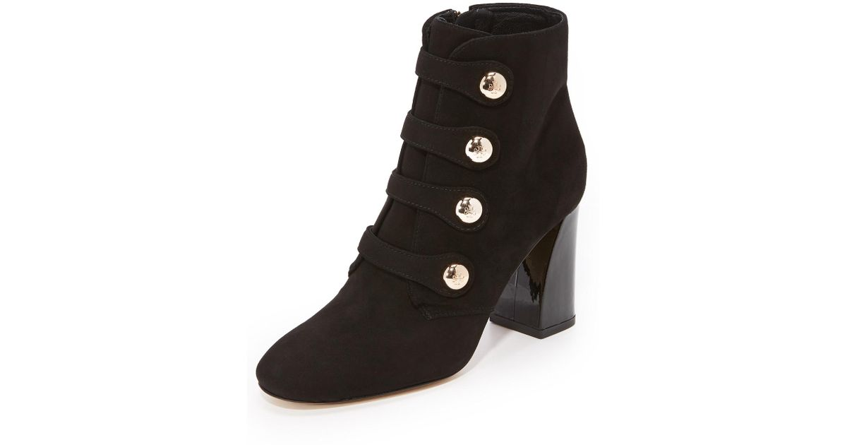 8e2036360 Lyst - Tory Burch Marisa 85mm Strappy Booties in Black