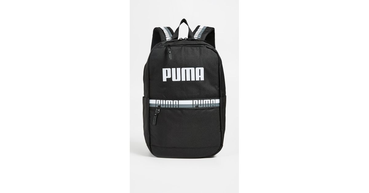 1e0d0b8818 PUMA Speedway Backpack in Black - Lyst