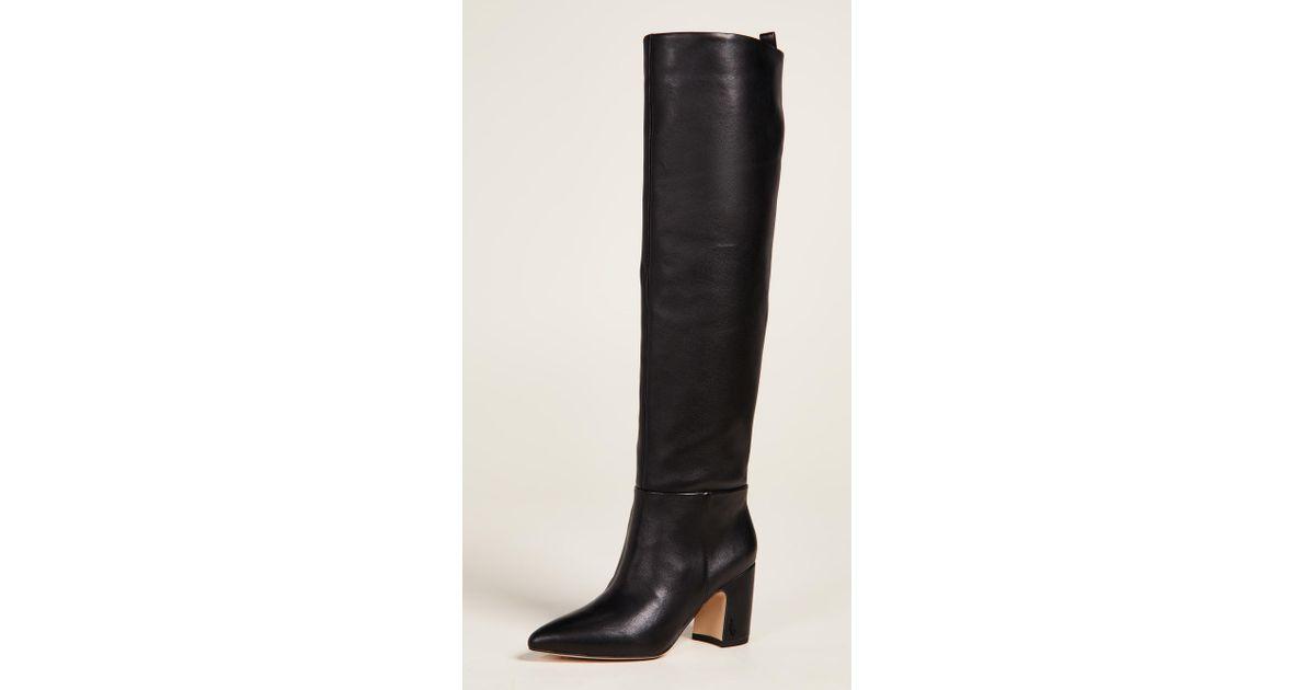 32dd0e5d2 Lyst - Sam Edelman Hutton Tall Boots in Black