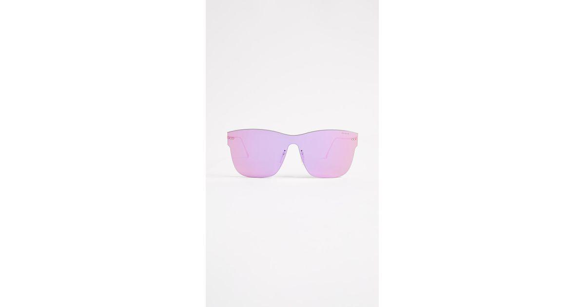 fc0fea4a5e59 Illesteva Newbury Sunglasses in Pink - Lyst