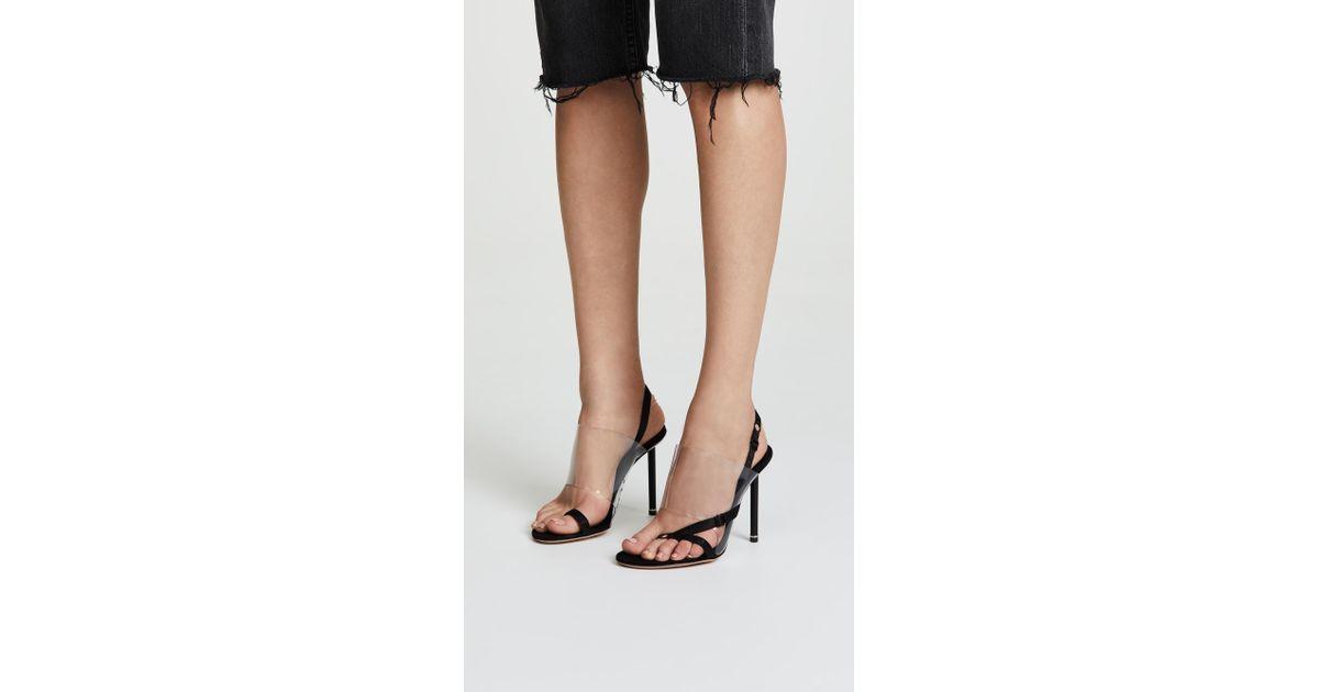 baf1a918a23 Alexander Wang Black Kaia High Heel Sandals