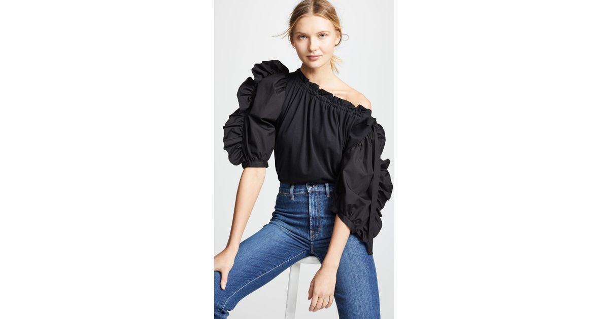 697bd3616c See By Chloé Black Frilled Blouse