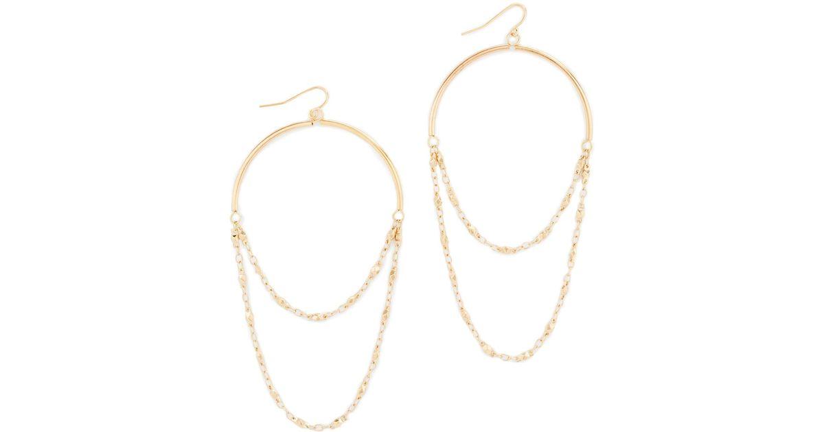 453c71fd7 Lyst - Vanessa Mooney The Egypt Earrings in Metallic