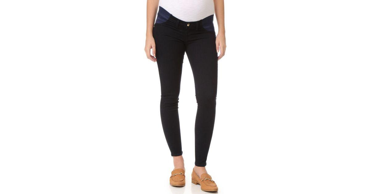 6ff9601c4aaf4 J Brand 3401 Mama J Super Skinny Maternity Jeans in Blue - Lyst